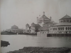 Fisheries Building, World's Columbian Exhibition in Chicago IL, 1892. Henry Ives Cobb