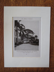 Ancon Hospital Laboratory, Ancon, Panama Canal Zone, S. Hitt, 1919, Lithograph