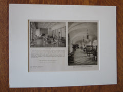Chalfonte Interior, Atlantic City, NJ, Rankin, Kellogg & Crane, 1926, Lithograph