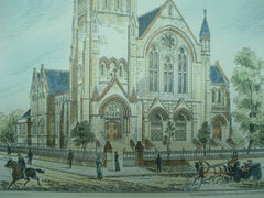 Holy Trinity Church, Privett, Hampshire, England, 1882. Arthur W. Blomfield. Original Plan