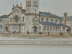 Free Church of the Annunciation, Philadelphia, PA, 1882. Charles M. Burns.