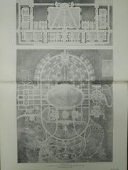 General Plan, New York Juvenile Asylum Design, Dobbs Ferry, NY, 1904, Original Plan. Butler & Rodman.