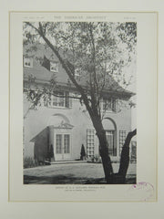 House of G. S. Gaylord, Neenah, WI, 1921, Photogravure. Childs & Smith.