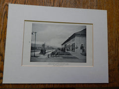 General Store,Morgan Park, MN  #,Industrial Suburb3, 1918, Lithograph. Dean & Dean.