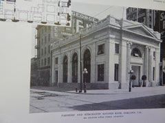 Farmers' and Merchant's Savings Bank, Oakland, CA, 1914. Charles Peter Weeks.
