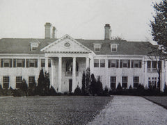 House of Charles Smithers, White Plains, NY, 1924. Donn Barber.