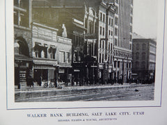 Exterior, Walker Bank Building, Salt Lake City, UT, 1914. Eames & Young.