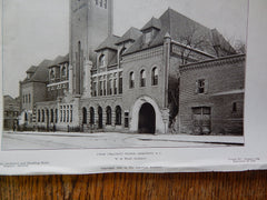 Union Traction Station, Georgetown, Washington, DC, 1906. W. B. Wood.