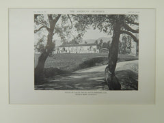 House of Ralph Isham, Santa Barbara, CA, 1921, Lithograph. Childs & Smith.