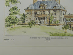 Residence of Walter Breese Smith, Tuxedo, NY, 1889, Original Plan.