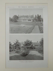 House of A. W. Bliss, Marion, MA, 1919, Lithograph. Coolidge & Carlson.
