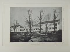 House of W. H. Dickinson, Jr., Columbus, OH, 1929, Lithograph. R.G. Hanford.