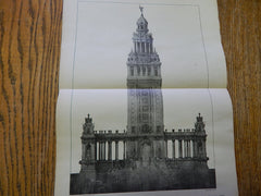 The Electric Tower: Pan-American Exposition, Buffalo, NY,1901, Lithograph. Howard.