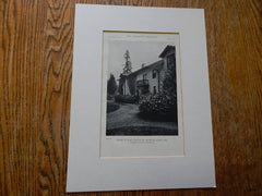 House of Earl Bronaugh,Jennings Lodge, OR, 1918,Lithograph. Lawrence & Holford.