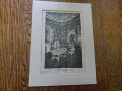 The Ladies Room:Colonial Theatre, Boston, MA, 1901,Lithograph. Blackall.