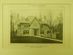 House of Winship Nunnally, Atlanta, GA, 1914, Lithograph. Hentz & Reid.