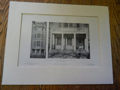 House of George Abbot James, ESQ.,52 Beacon St.,Boston, MA, 1905,Litho. Sturgis & Barton.