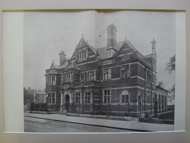 Passmore Edwards Public Library, Shepherd's Bush, London, England, UK, 1898, Maurice B. Adams