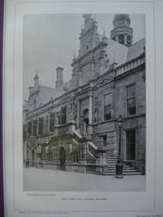 Town Hall, Leyden, Holland, EUR, 1901, Unknown