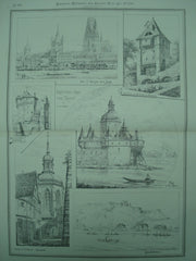Sketches from the Rhein, Rhein, Germany, EUR, 1880, L. S. Ipsen