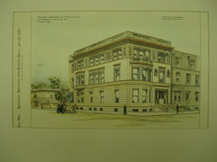 Proposed Residence for H. Graham , Montreal, CAN, 1895, A. F. Dunlop & J. C. A. Heriot