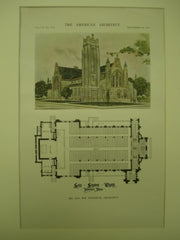 Saint Stephen's Church , Worcester, MA, 1916, Jno. Wm. Donohue