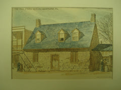 Old Stone House , Richmond, VA, 1890, D. A. Gregg