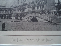 Ducal Palace , Venice, Italy, EUR, 1884, Unknown