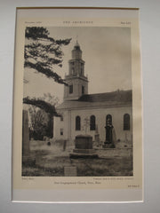East Congregational Church , Ware , MA, 1926, Frohman, Robb & Little