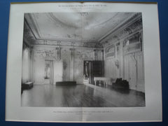 Assembly Hall of the Catholic Club-House, West Fifty-Ninth Street , New York, NY, 1895, William Schickel & Co