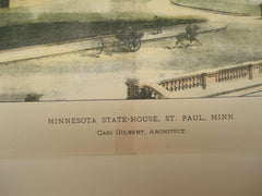 Minnesota State-House , St. Paul, MN, 1896, Cass Gilbert