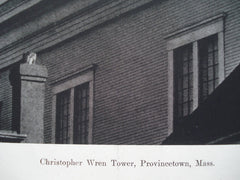 Christopher Wren Tower , Provincetown, MA, 1890, Unknown