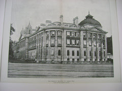 New Admiralty Buildings, St. James Park, England, UK, 1898, Myers, Leeming & Leeming