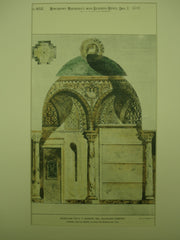 Mausoleum for G. P. Morosin at Woodlawn Cemetery , New York, NY, 1894, Jardine, Kent, & Jardine