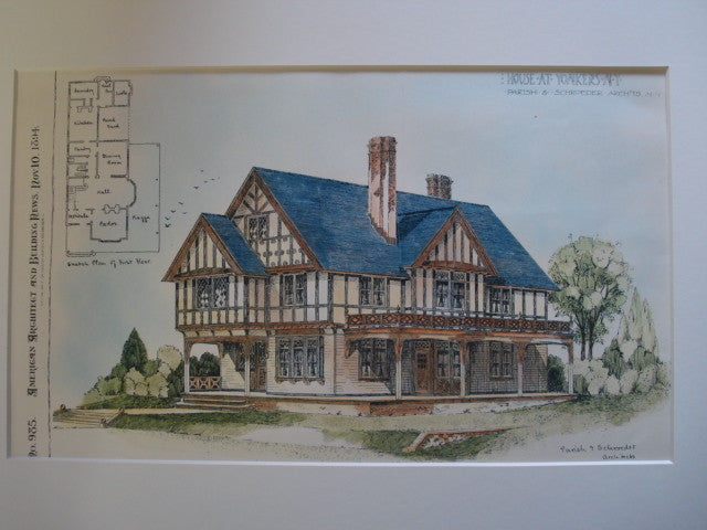 House at Yonkers, Yonkers, NY, 1894, Parish & Schroeder