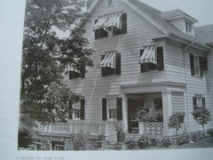 House on Cobb Lane , Tarrytown, NY, 1909, Ewing & Chappell,