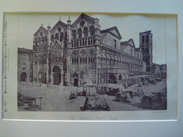 Ferrara Cathedral, Ferrara, Italy, EUR, 1885, Unknown