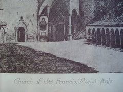 Church of St. Francis, Assisi, Italy, EUR, 1885, Unknown