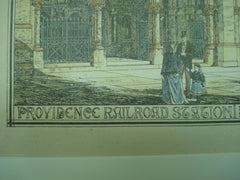 Providence Railroad Station , Providence, RI, 1877, Peabody & Stearns