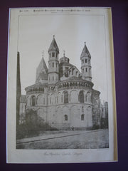 Apostles' Church, Cologne, Germany, EUR, 1885, Unknown