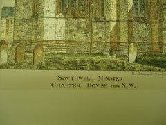 Minster Chapter House , Southwell, Nottinghamshire, England, UK, 1883, Unknown