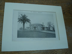 House of Mrs. R.D. Girvin, San Mateo, CA, 1915, Messrs. Bliss & Faville