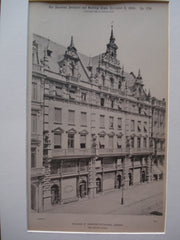 Buildings at Frankfort-on-the-Main , Frankfort, Germany, EUR, 1890, Paul Wallot