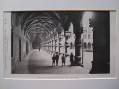 Arcade upon the Court-Yard of the Palais de Justice, Liege, Belgium, EUR, 1890, Unknown