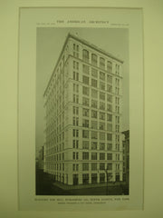 Building for the Hill Publishing Co. on Tenth Avenue , New York, NY, 1915, Starrett & Van Vleck