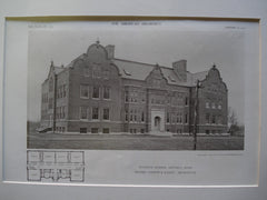 Winslow School , Beverly, MA, 1910, Cooper & Bailey