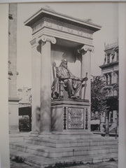 Monument to Peter Cooper , Astor Place, NY, 1897, McKim, Mead & White, Architect(s), Augustus St. Gaudens, Sculptor