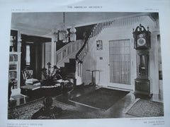 House of Henry R. Smith, Esq. , Leominster, MA, 1910, James Purdon