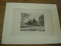 Walden: House of Cyrus H. McCormick, Lake Forest, IL, 1915, Messrs. R.E. Schmidt, Garden & Martin and Mr. Lawrence, Buck