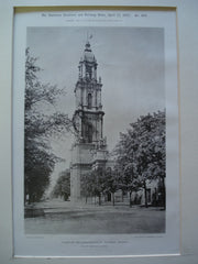 Tower of the Garnisonkirche, Potsdam, Prussia, EUR, 1897, Philipp Gerlach